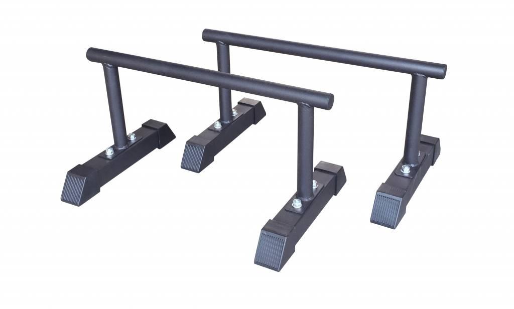 Crossmaxx® LMX1701 Crossmaxx® parallettes set (black)