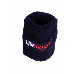 Lifemaxx® LMX1816.L Lifemaxx® sweatband 75 x 75mm (black)