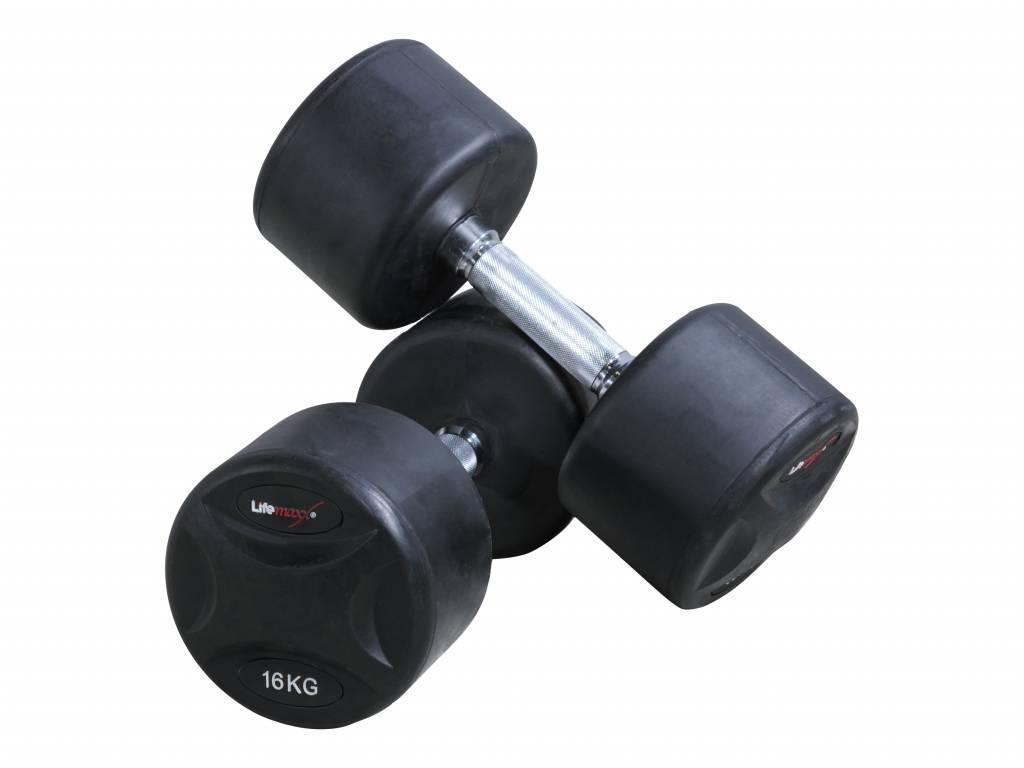 Lifemaxx® LMX79 Fixed dumbbellset (1 - 50 kg)