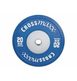 Crossmaxx® LMX85C Crossmaxx® Comp. bumper plate 50mm - coloured (10 - 25kg)