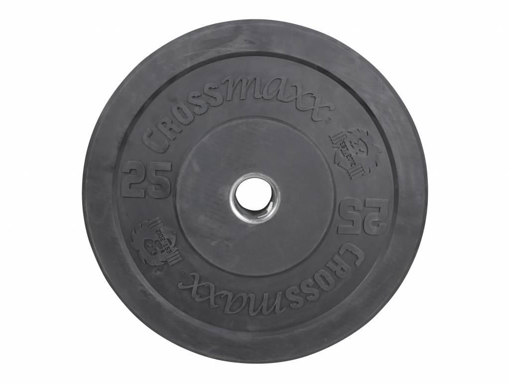 Crossmaxx® LMX87 Crossmaxx® bumper plate 50mm - black (5 - 25kg)
