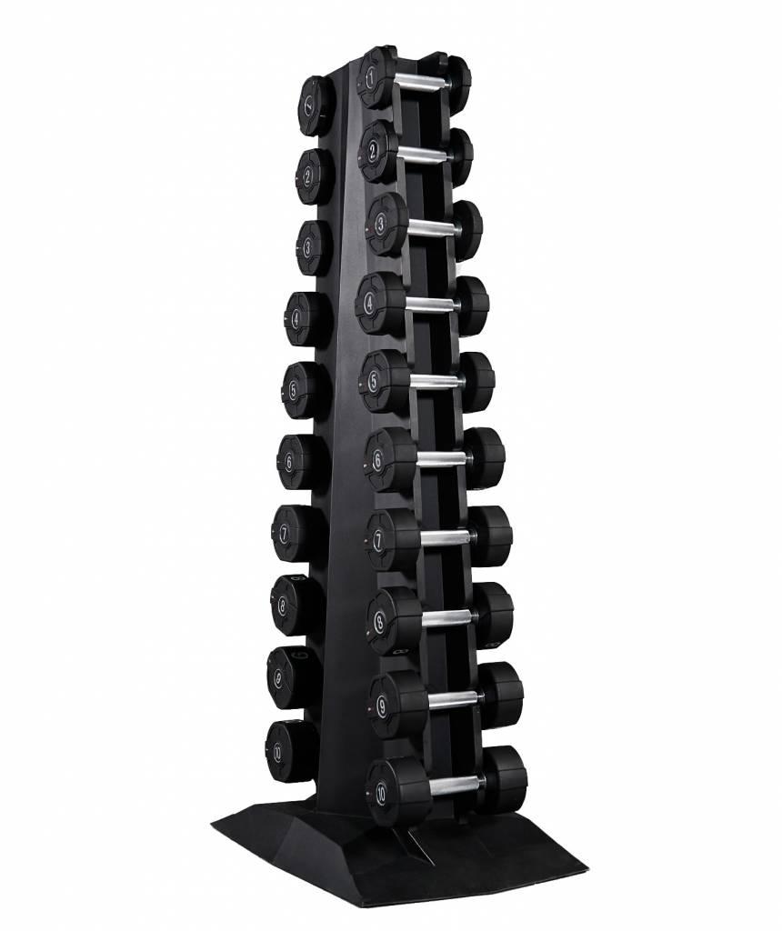 Lifemaxx® LMX94 Lifemaxx® PU dumbbell tower (leverbaar juni)