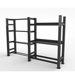 Crossmaxx® LMX1797 Crossmaxx® Storage dumbbell/kettlebell shelf