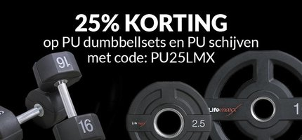 Best start of the new season: 25% discount on PU dumbbells and PU discs