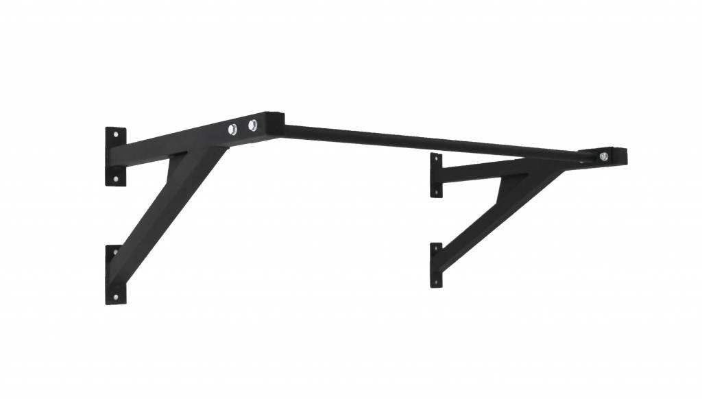 Lifemaxx® LMX1700 Crossmaxx® wall mounted pull-up rack (black)
