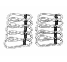 LMX.® LMX57.LOCK LMX. Snaphook with lock (10pcs/set)