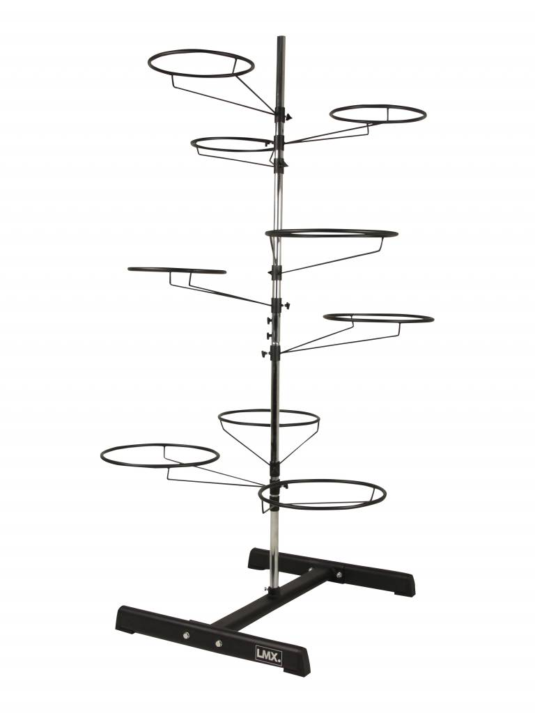 Lifemaxx® LMX1105 Gymball rack. For 9 gymballs (black) (leverbaar augustus)