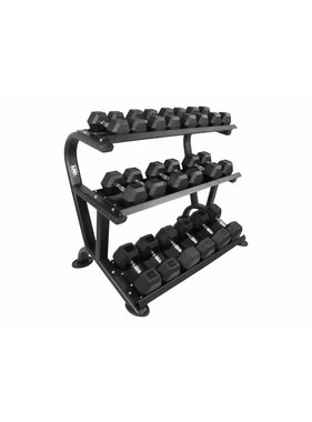 LMX. LMX1014 LMX. Hexagon 3-tier dumbbell rack