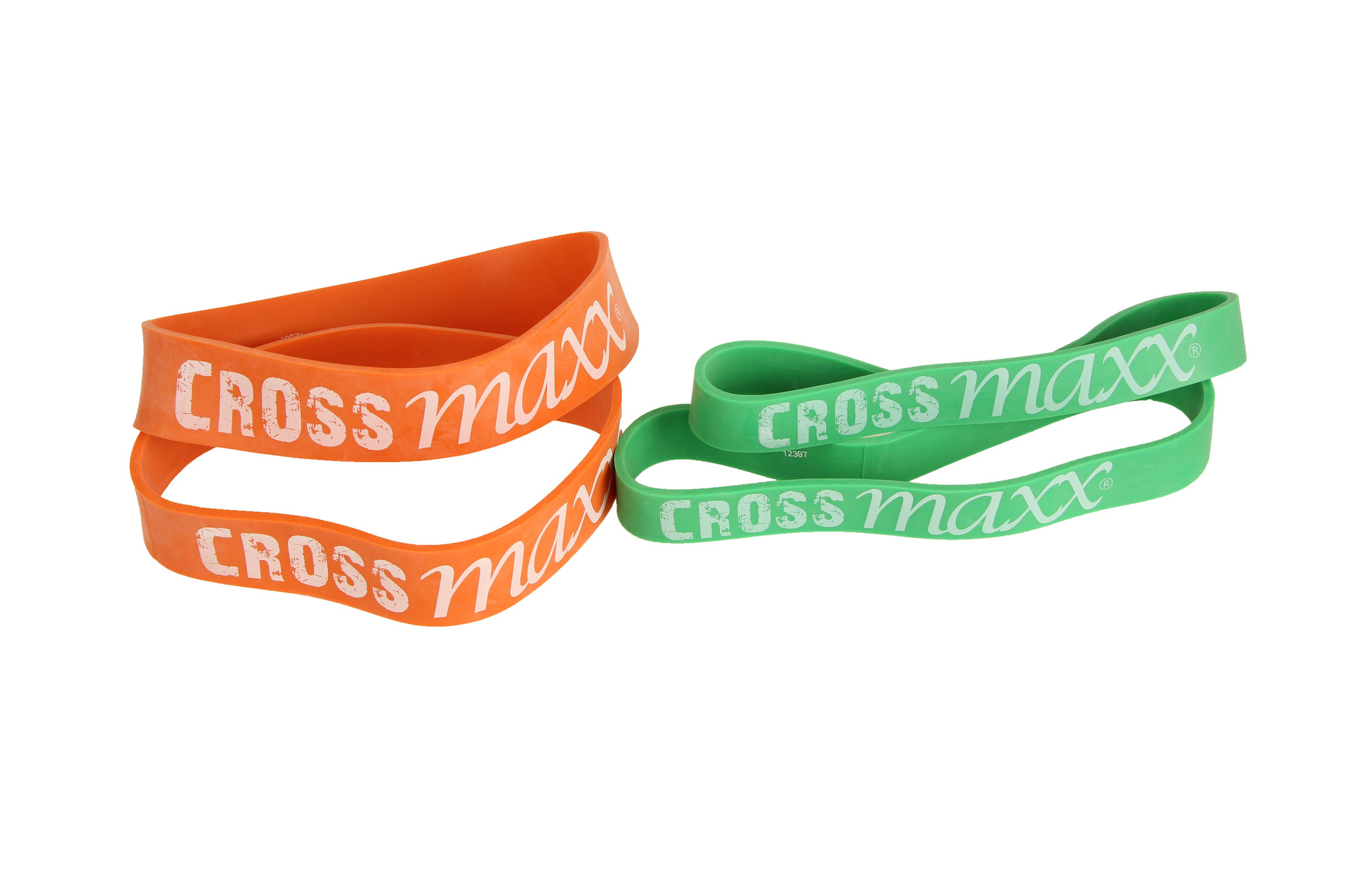 Crossmaxx® LMX1181.H Crossmaxx® Mini resistance band set HEAVY (4pcs)