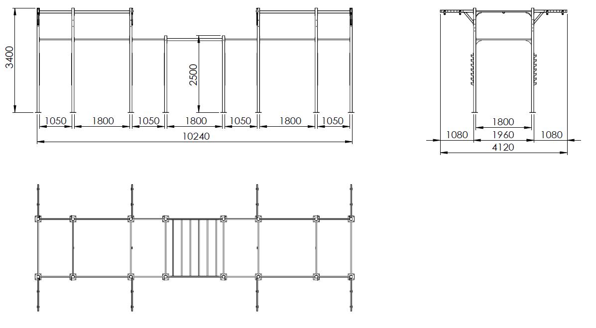 Crossmaxx® Crossmaxx® Outdoor Setup - CMO4