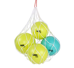 Lifemaxx® LMX1260.BAG Pilates ball net (white)