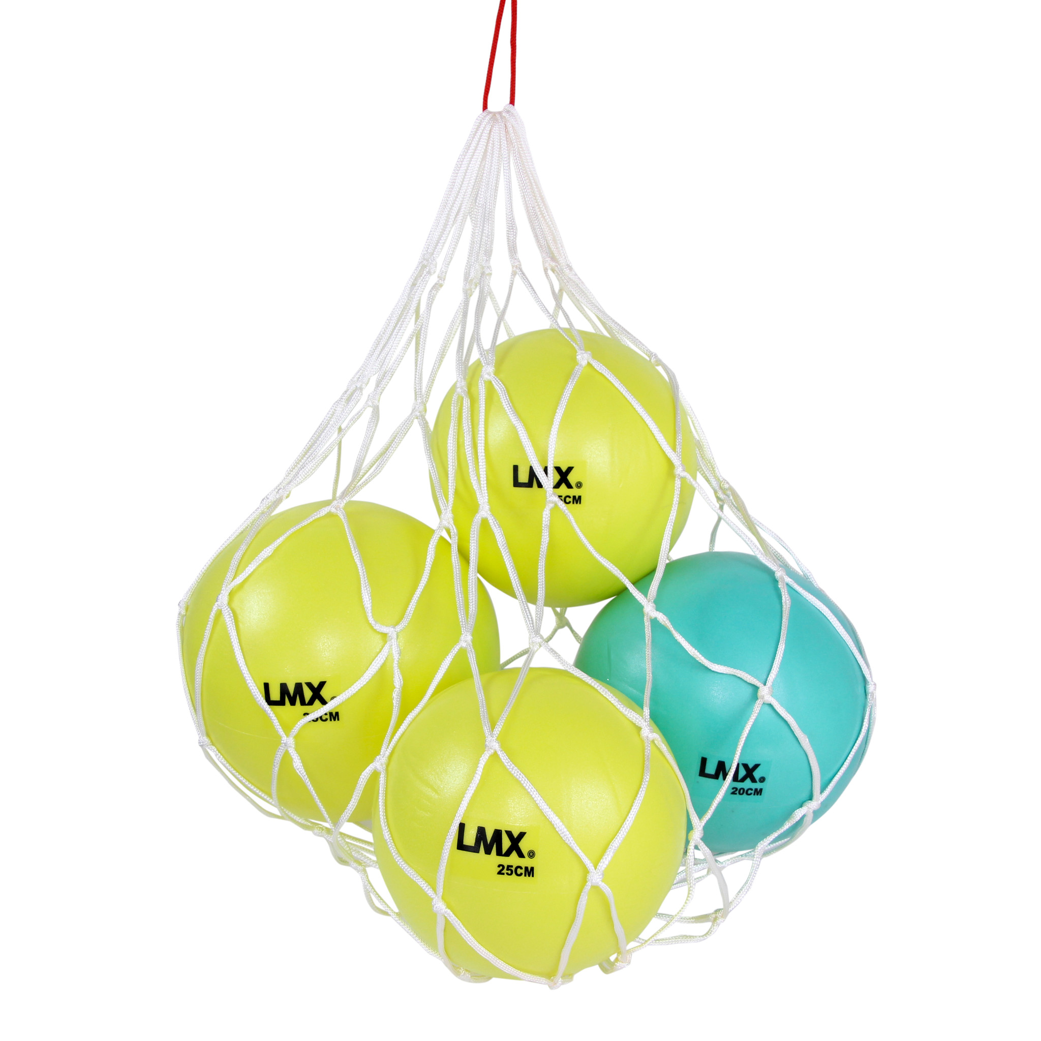 Lifemaxx® LMX1260.BAG Pilates ball net (white)