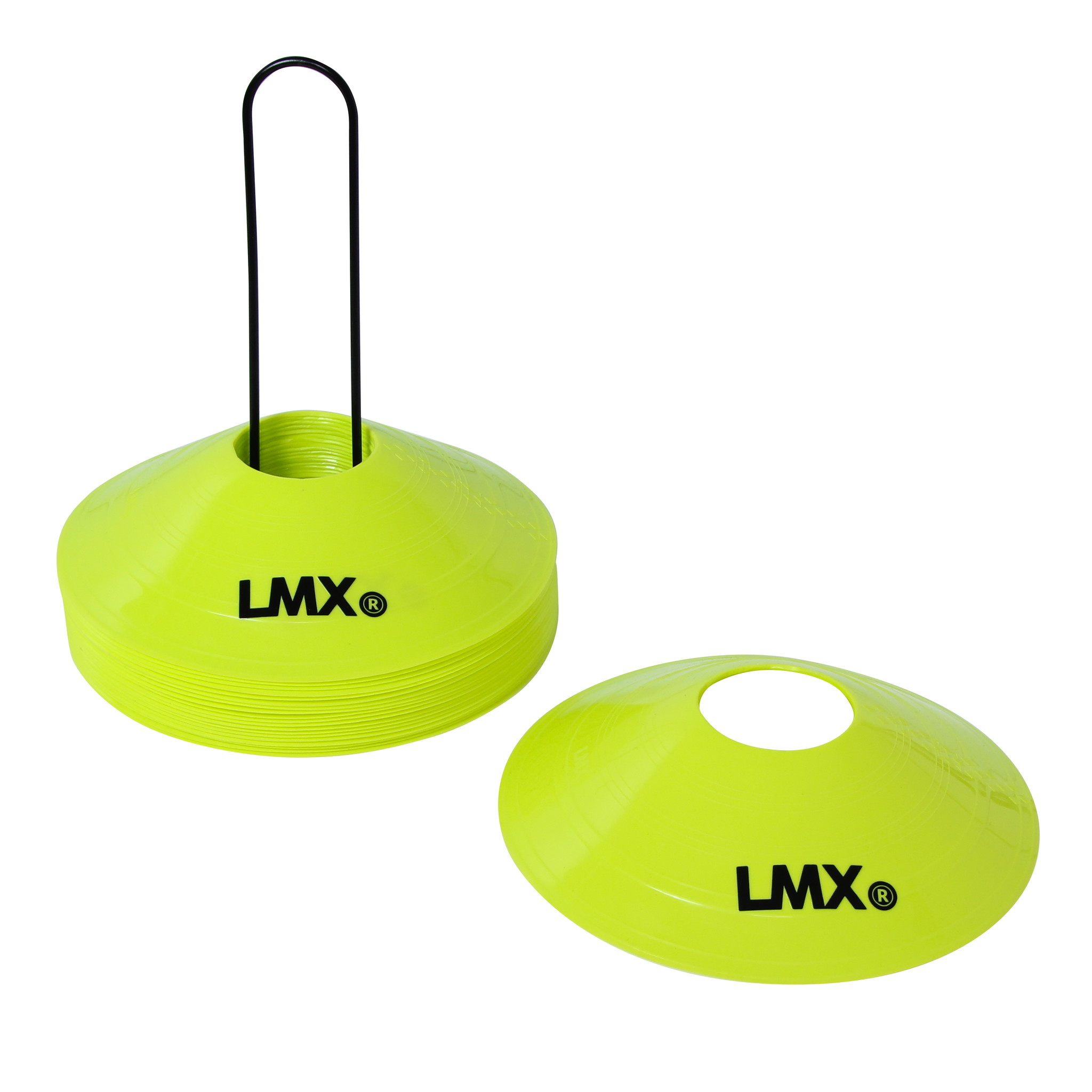 LMX.® LMX1275 LMX. Cones. 20 pcs with rack (yellow)
