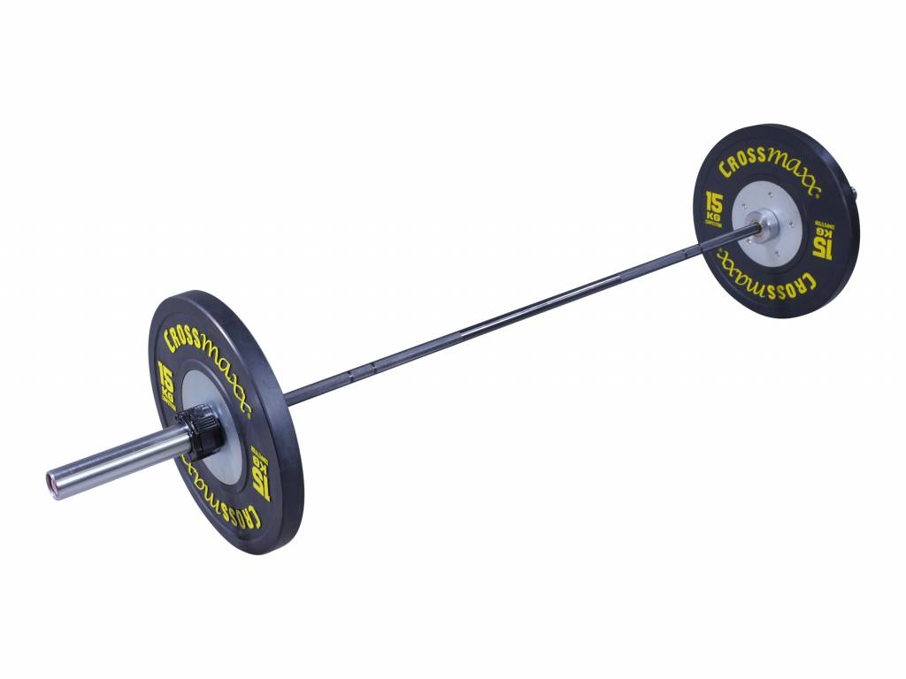 Crossmaxx® LMX44 Crossmaxx® Olympic comp bar 50mm, 200cm 15kg (black/chrome)