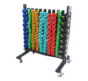 LMX.® LMX1151 LMX. Vinyl dumbbell rack (black)