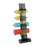 Lifemaxx® LMX1144 Pump rack. For max. 10 sets (black)