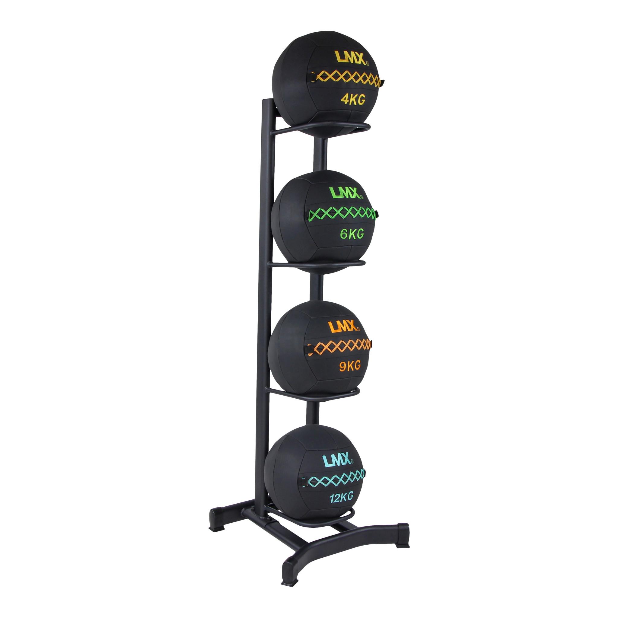 Crossmaxx® LMX1248 Wall ball rack for 4 wallballs (leverbaar augustus)