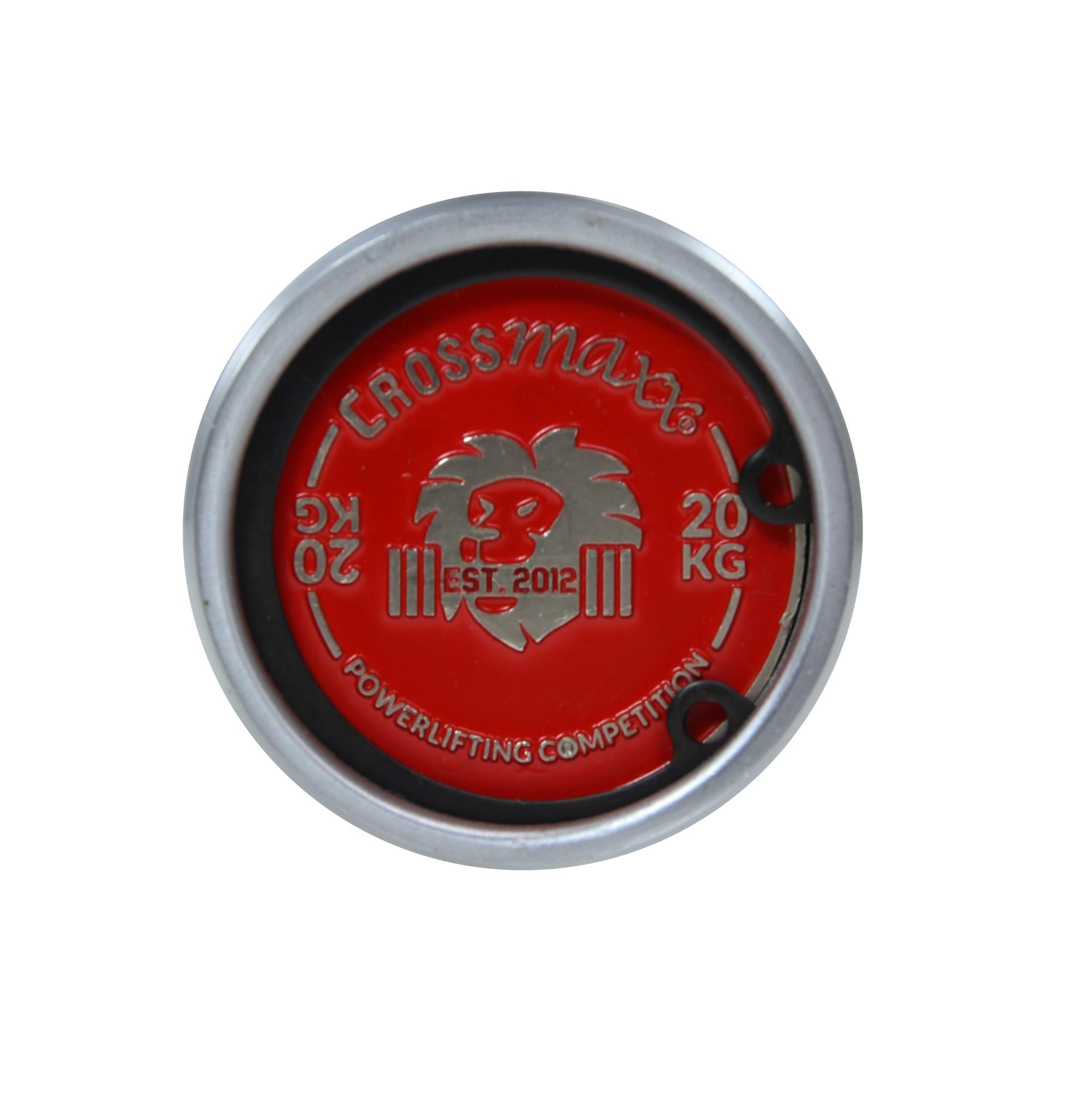 Crossmaxx® LMX29 Crossmaxx® Powerlifting bar (IPF spec)