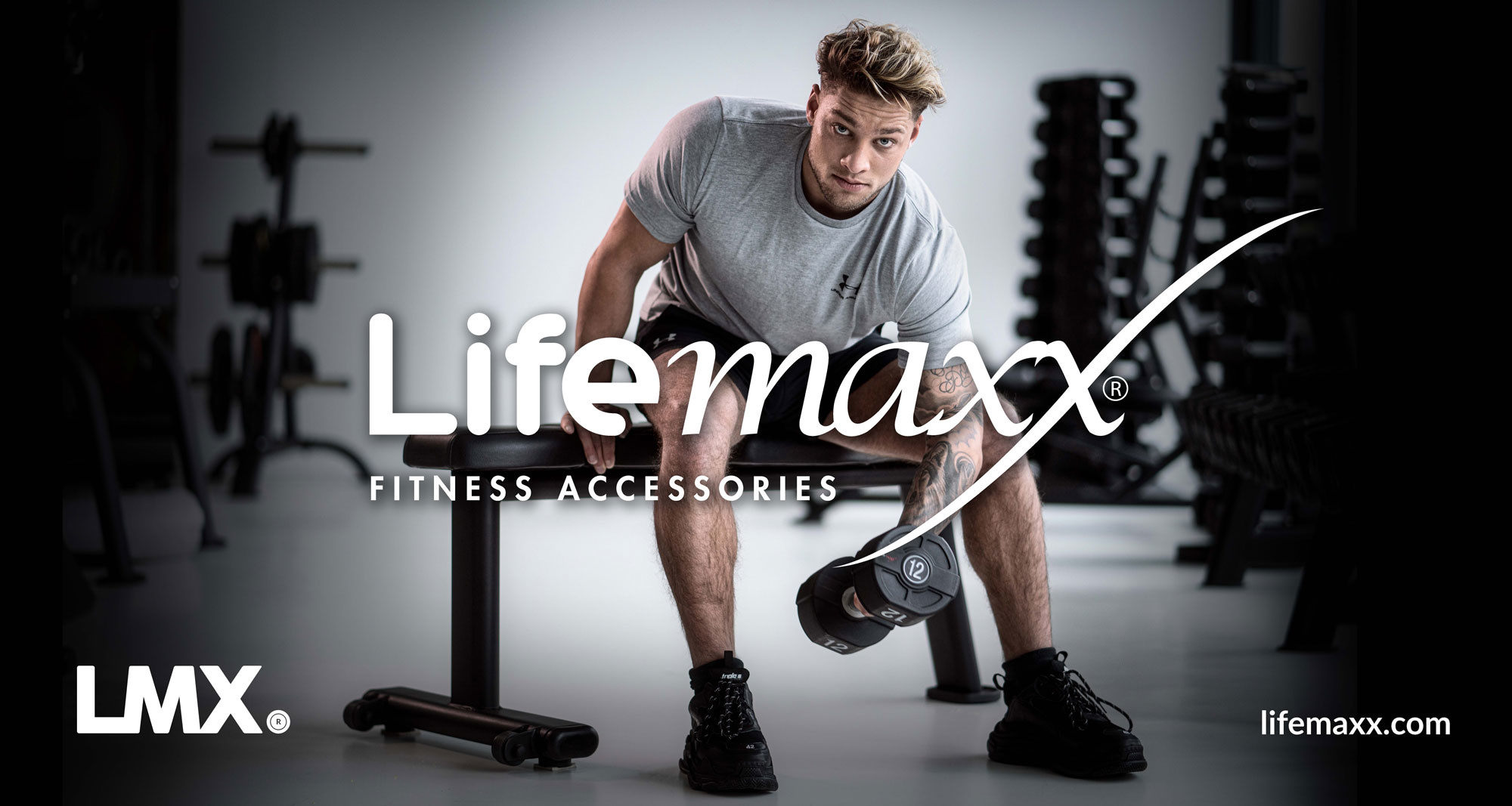 Lifemaxx® LMX2215 Lifemaxx banner 300x160cm