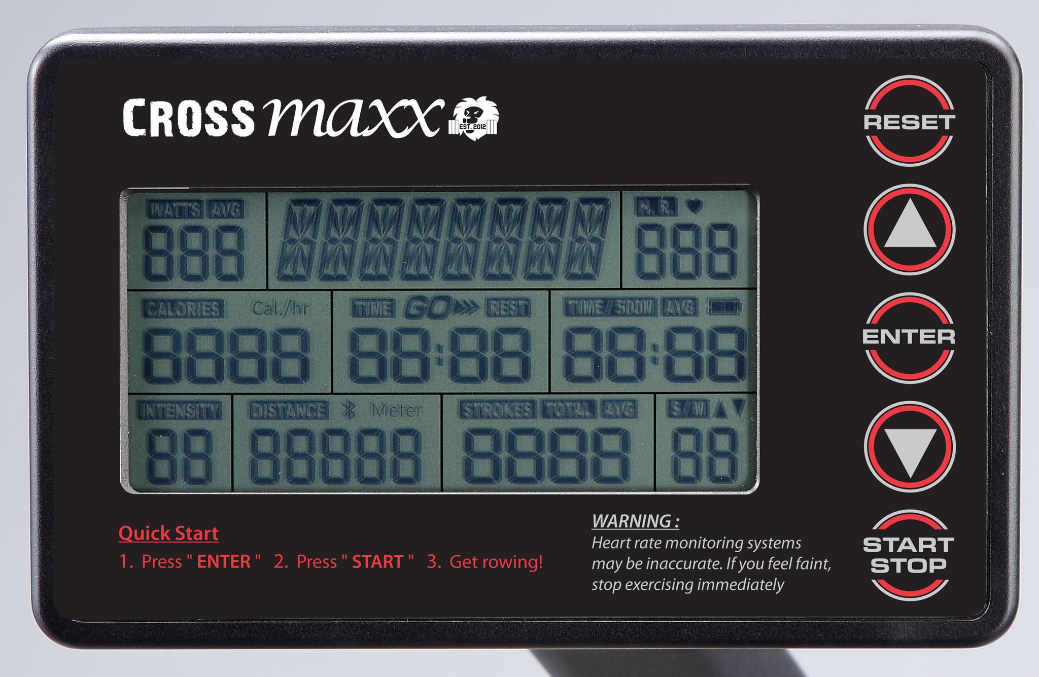 Crossmaxx® LMX1752 Crossmaxx® Air Rower PRO