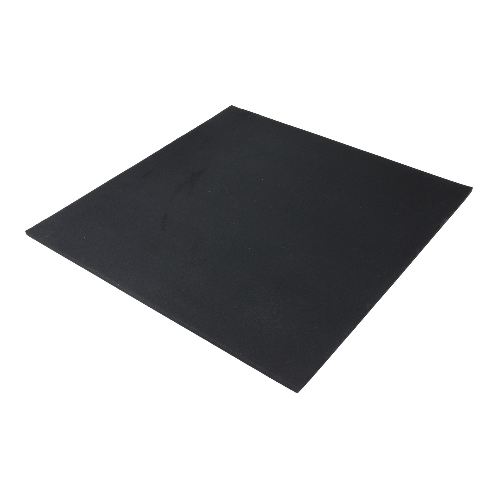 Lifemaxx® LMX1381 Rubber tile fine granulate 100x100x1,5cm