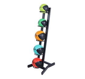 Lifemaxx® LMX1251 Medicineball rack. For 5 medicineballs (black)