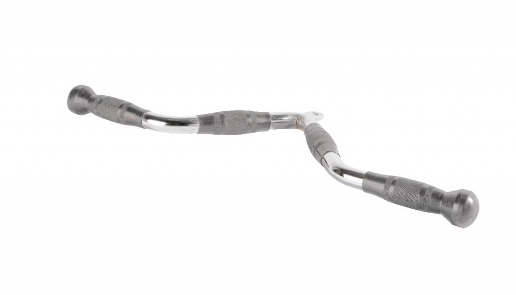 Lifemaxx® LMX04 Angled biceps/triceps bar PU grip