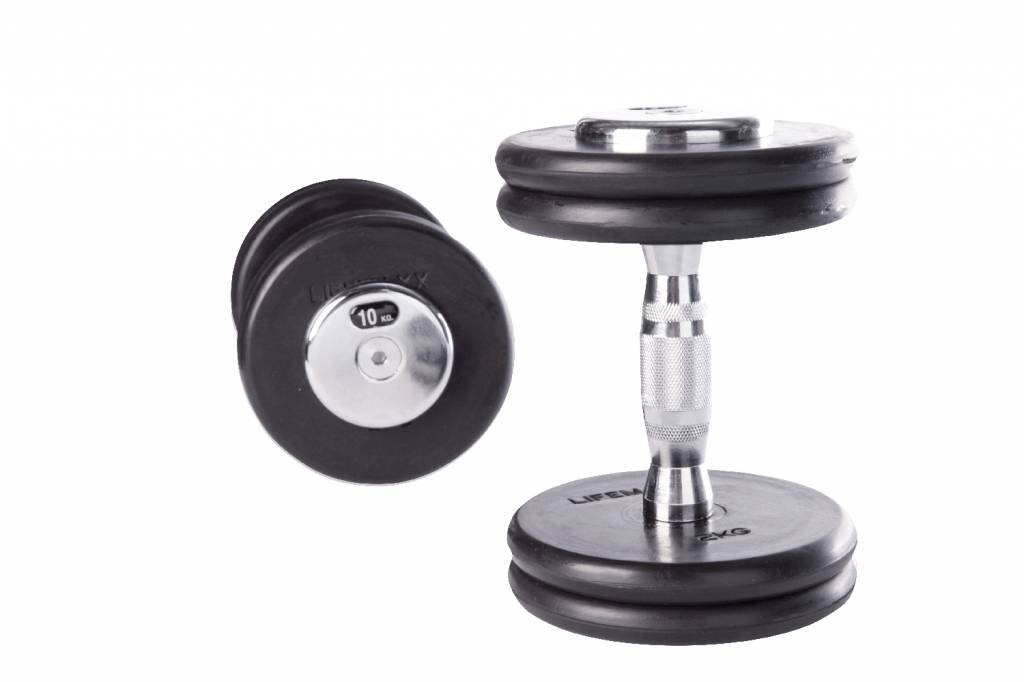 Lifemaxx® LMX75C Contoured Dumbbellset (2 - 60kg) (all weights - available December)
