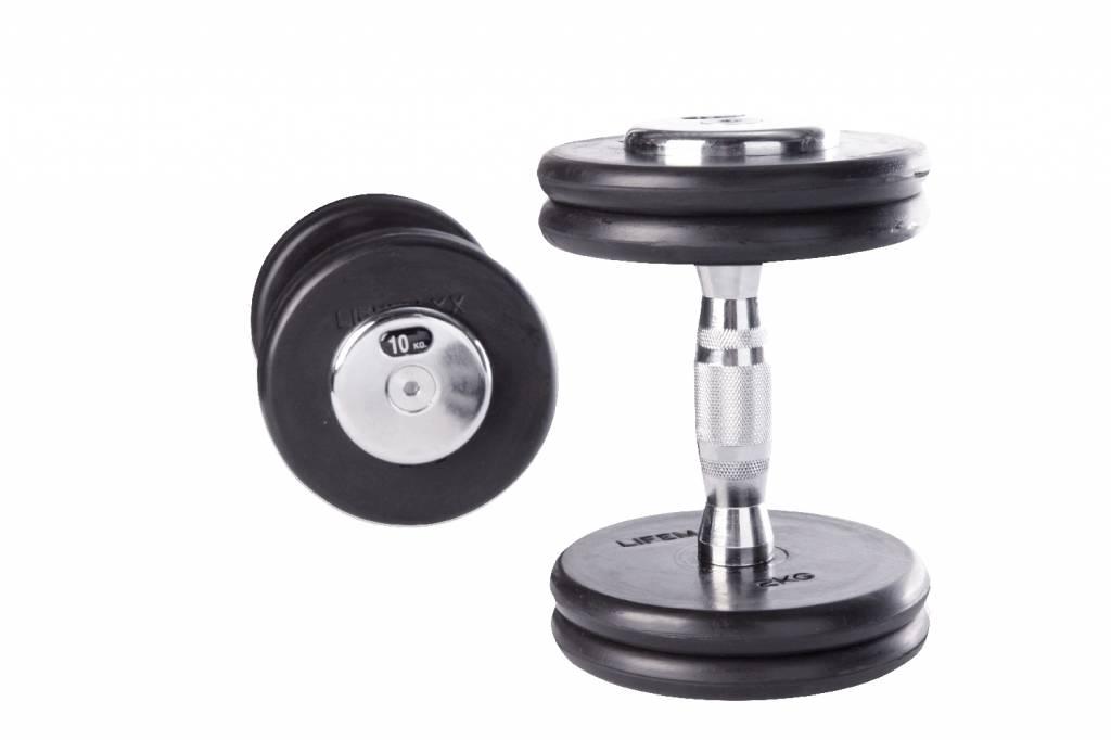 Lifemaxx® LMX75C Contoured Dumbbellset (2 - 60kg) (alle gewichten - leverbaar augustus)
