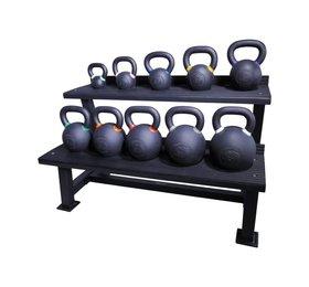 Crossmaxx® LMX1145 Crossmaxx® kettlebell rack (black)