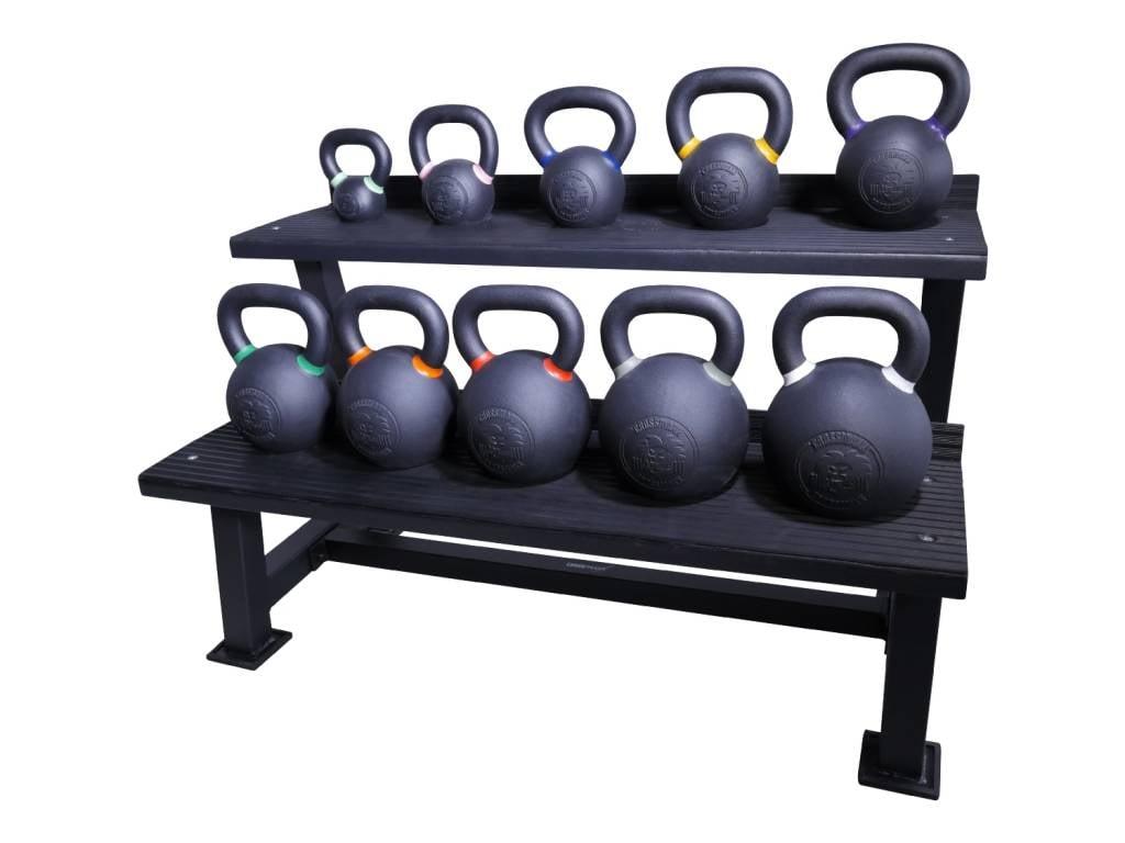 Crossmaxx® LMX1145 Crossmaxx® kettlebell rack (black) (available January)