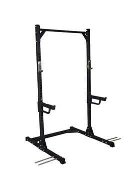 Lifemaxx® LMX1740 Crossmaxx® Squat rack (black)