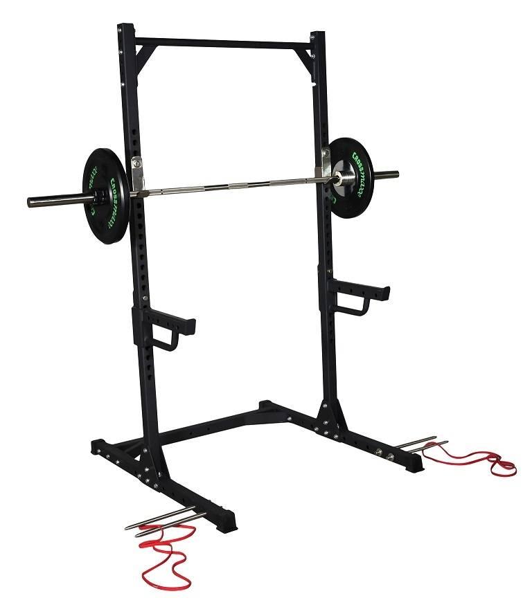 Crossmaxx® LMX1740 Crossmaxx® Squat rack (black)