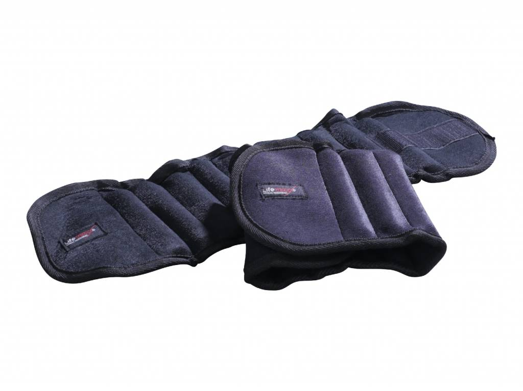 Lifemaxx® LMX1110 Adjustable ankle/wrist weight set PRO (2x1,25kg)