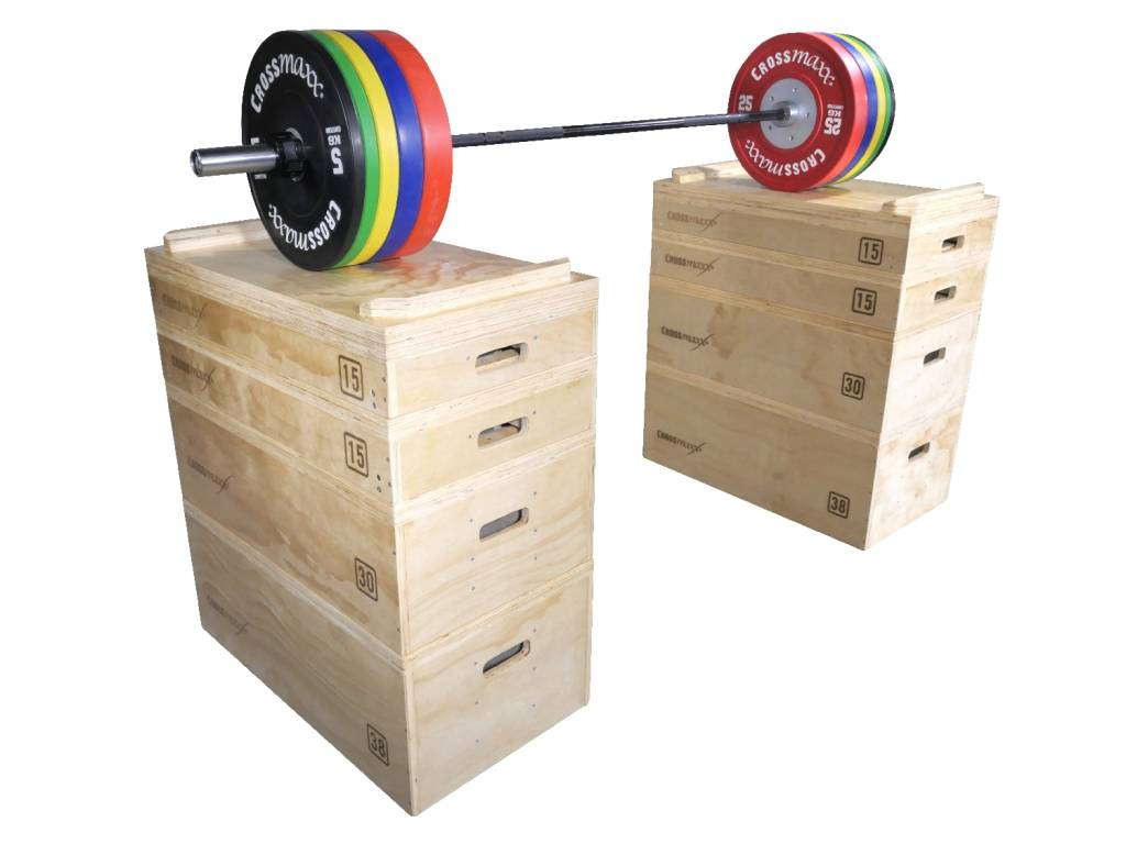 Crossmaxx® LMX1299 Crossmaxx® wooden jerk block set (leverbaar december)