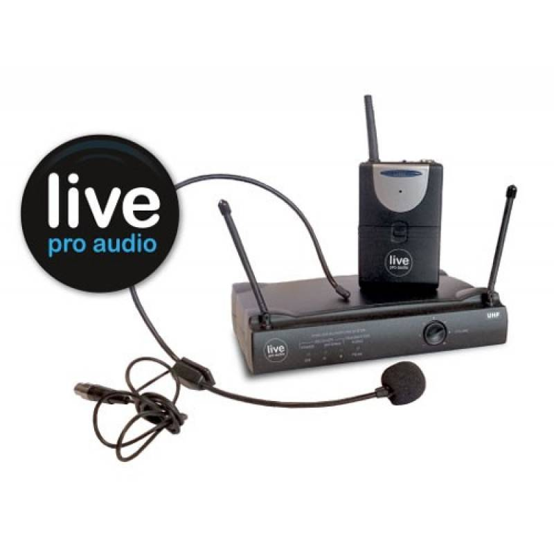 Live Pro Audio Complete Headset