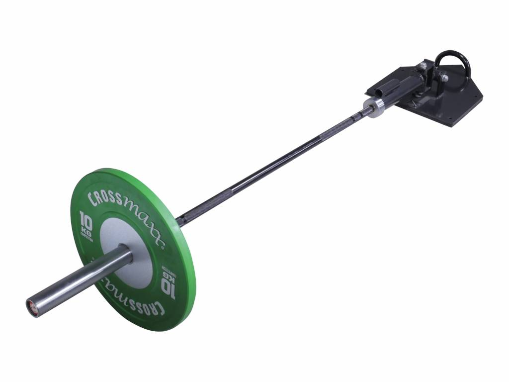 Lifemaxx® LMX1022 Total core trainer with handle. For 50mm bars (black)