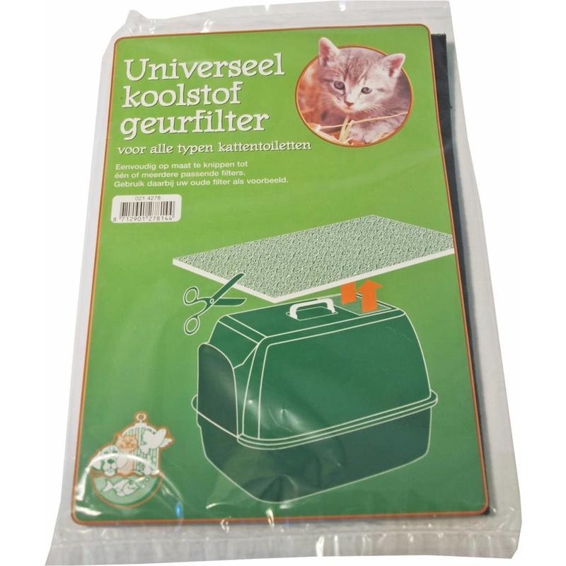 Universeel Koolfilter voor alle kattenbakken