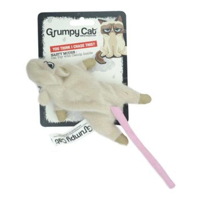 Grumpy Cat Nasty Mouse