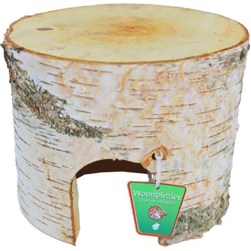 Berkenhouten hamsterhuis