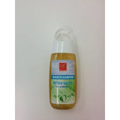 Animal Nature Witte Vacht met conditioner 250ml.