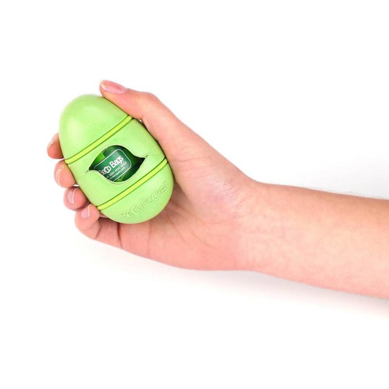 Becopocket poepzakjeshouder groen