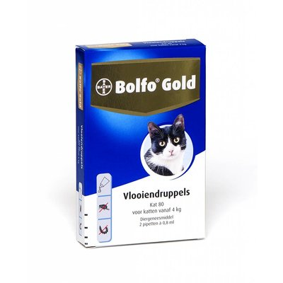 Bolfo Gold kat 80 (2 pipet)