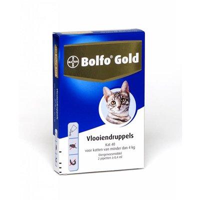 Bolfo Gold kat 40 (2 pipet)