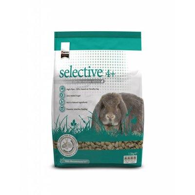 Selective senior konijn
