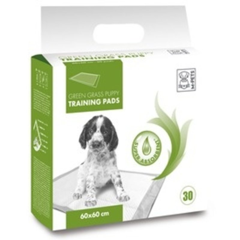 M-Pets Puppy Training Pad Green Grass