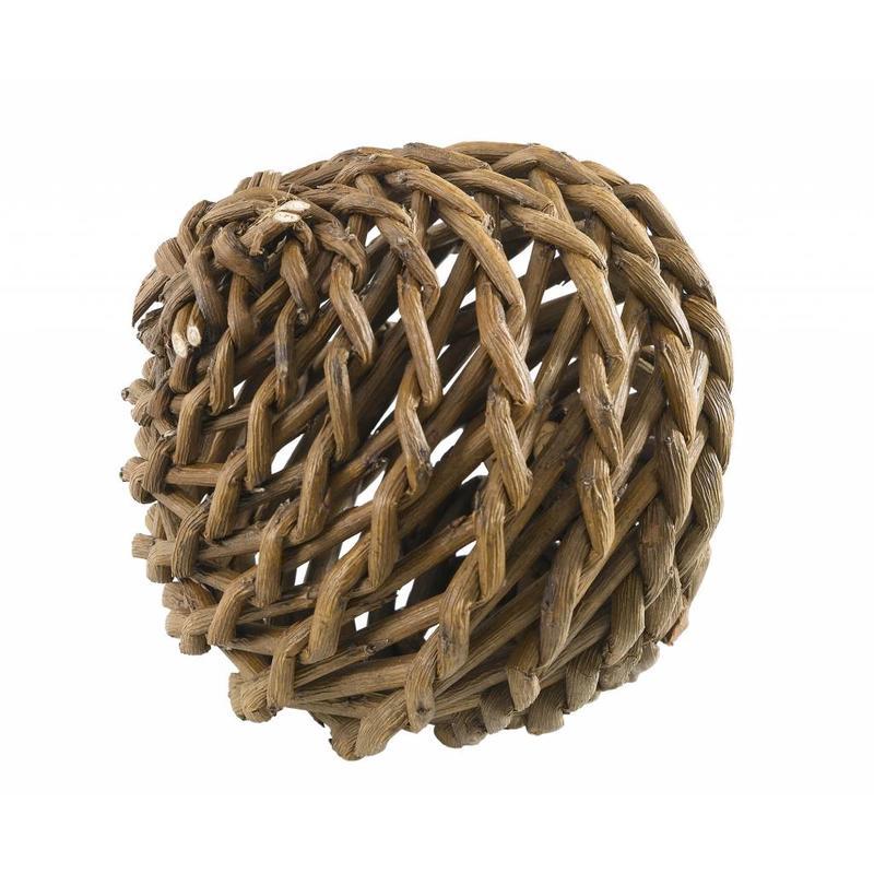 Knaagdierspeelbal hout 12cm.