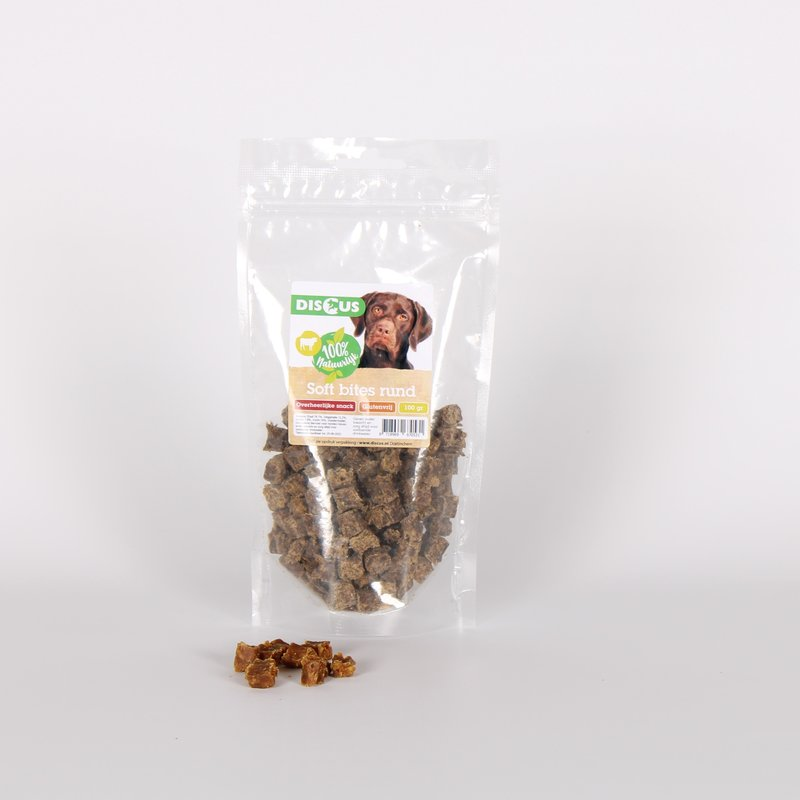 Discus Naturals Soft Bites Rund 100gram