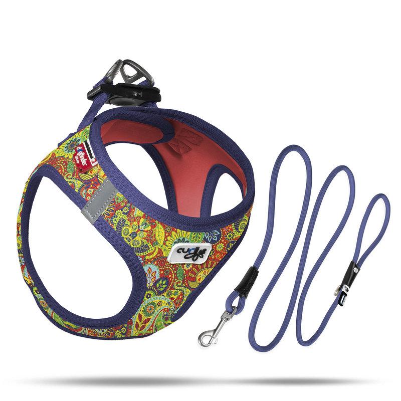 Curli Special (limited) Edition Air Mesh harness + lijn