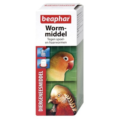 Wormmiddel vogel/knaagdier 100ml